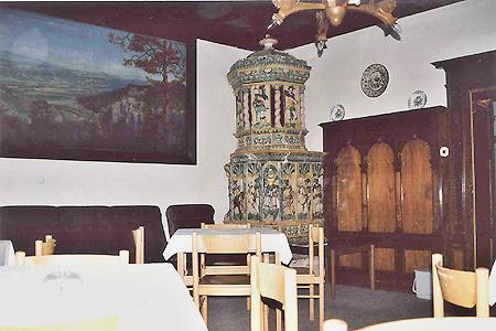 Ubytování Orlické hory - Lovecký zámeček nad Uhřínovem - restaurace